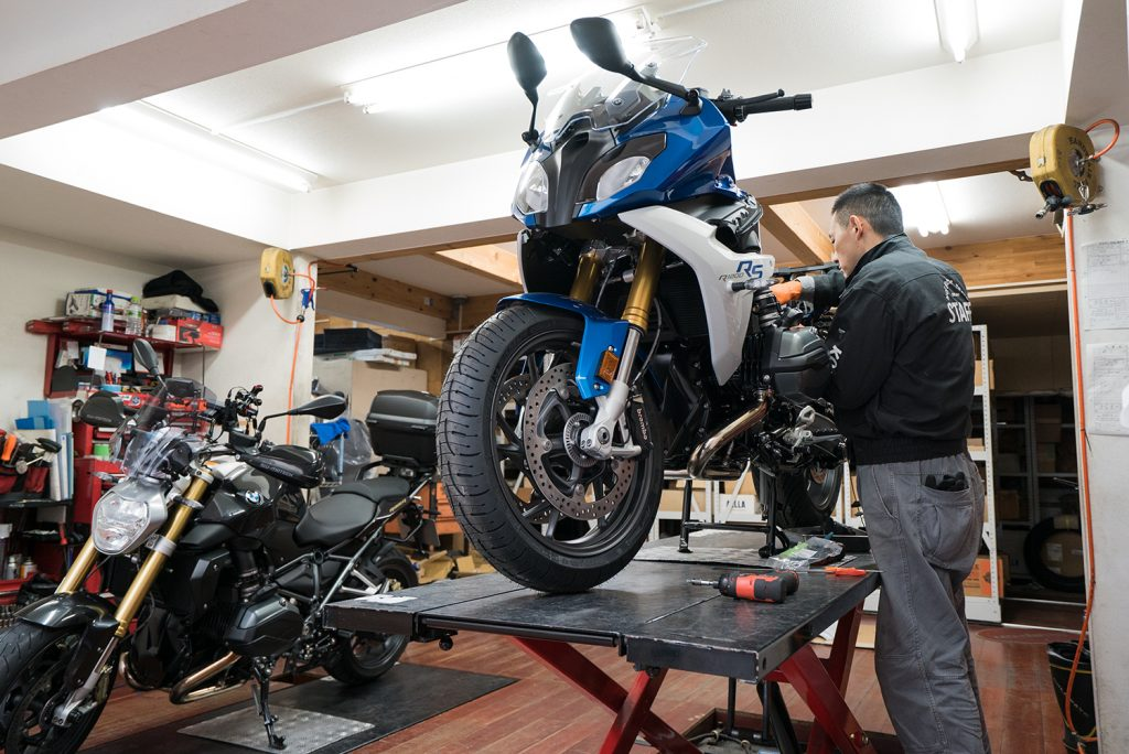 八王子 バイク 整備