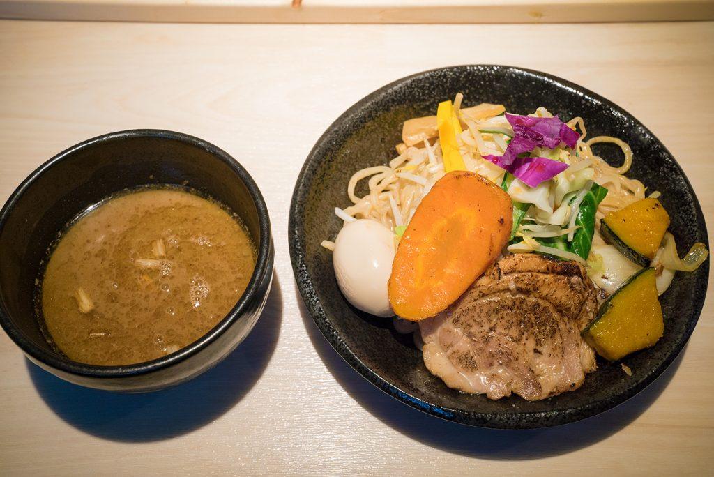 八王子 麺屋土竜(もぐら) 土竜つけ麺