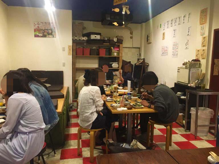 シムラホール店内昭和レトロ居酒屋