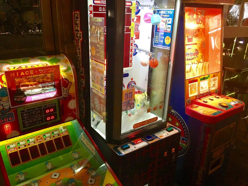 八王子北野バグダッドカフェコース飲み放題アーケードゲーム