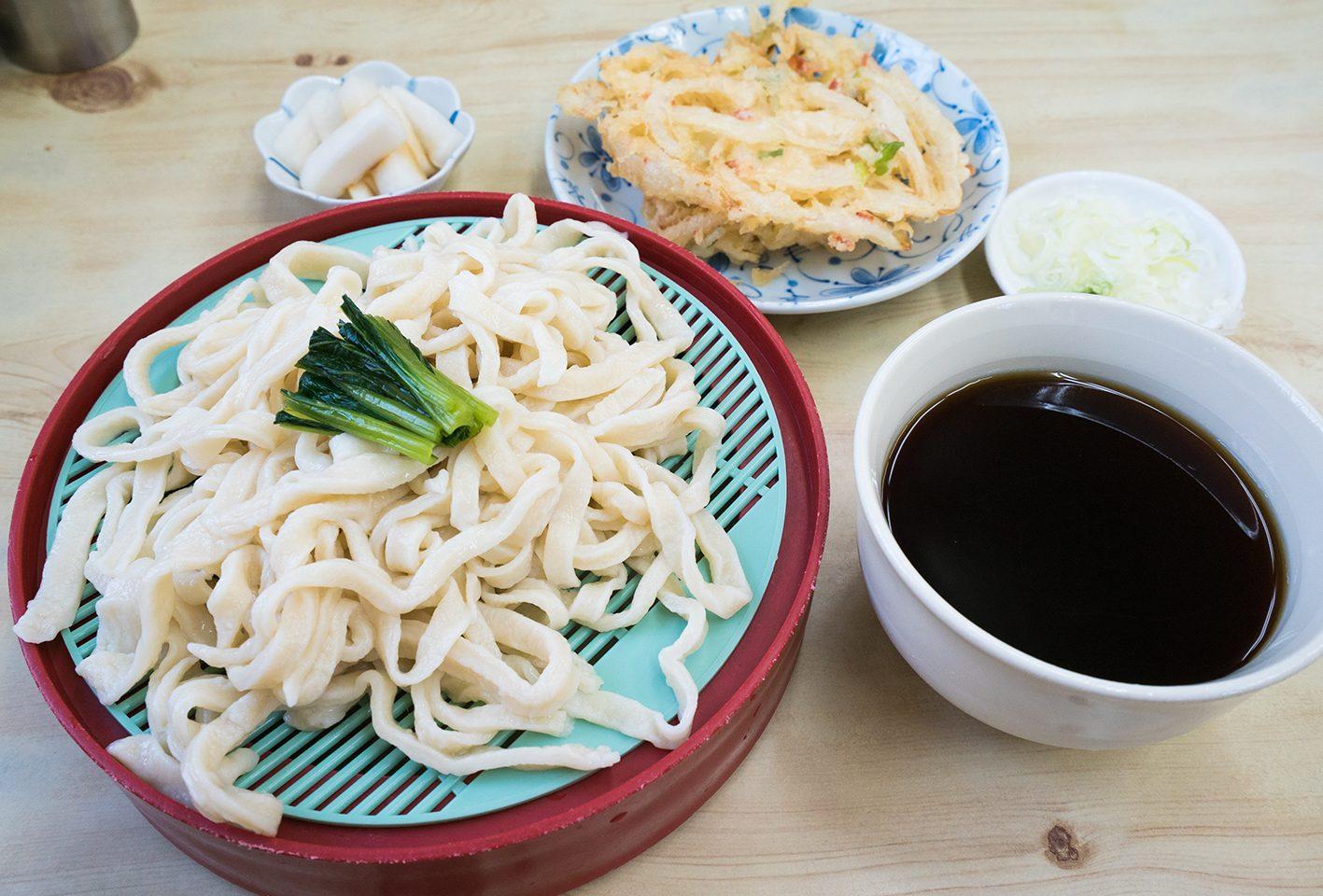 【ふたばや】八王子のうどん名店は麺が超最高!!