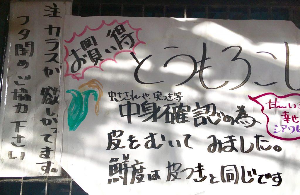 【八王子無人販売】菱山ファーム|生で食べられるトウモロコシ!?