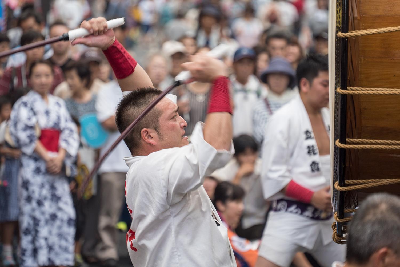 八王子まつり2017 関東太鼓大合戦