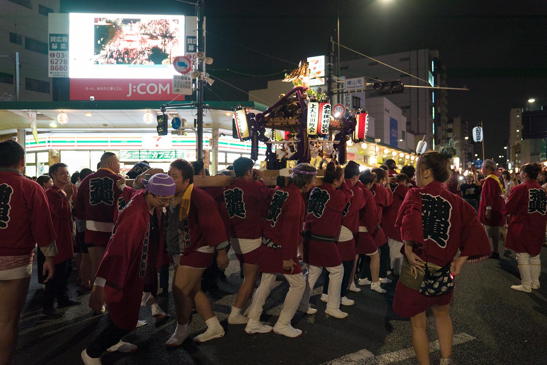 八王子まつり2017山車巡行・神輿渡御