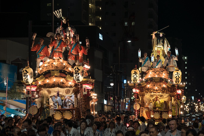 八王子まつり2017山車総覧・山車巡行・神輿渡御