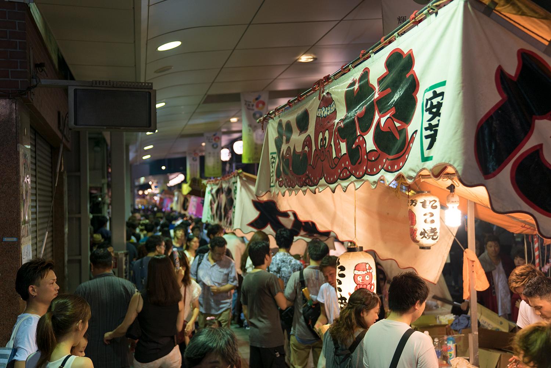 八王子まつり2017居囃子縁日屋台夜店