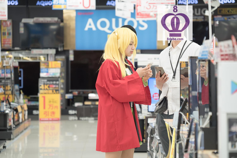 八王子たんの実写版PVを公開っ!!8月2日は八王子たんの日じゃい!!