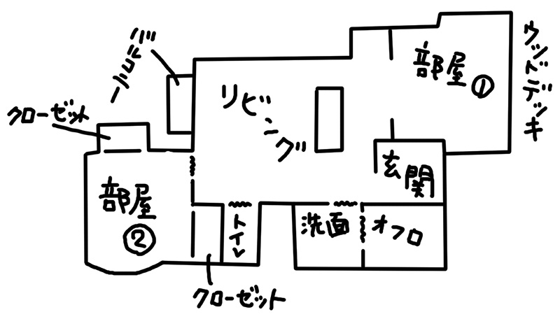 pasapas(パザパ)八王子のテナント兼住居はジブリチック?!