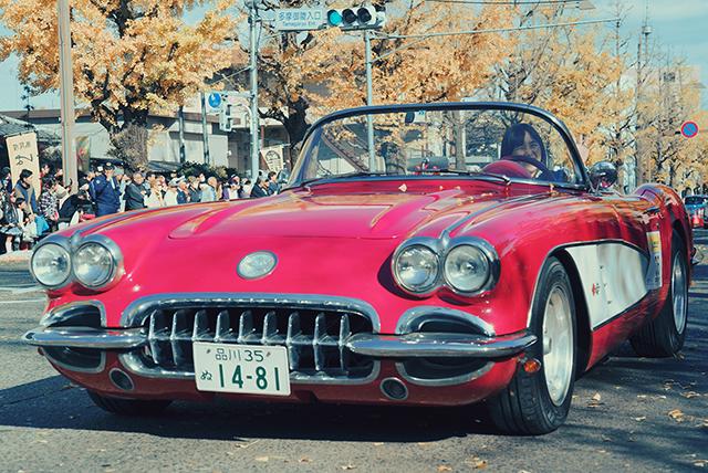 八王子いちょう祭りレポ!!大迫力のクラシックカーパレード!!