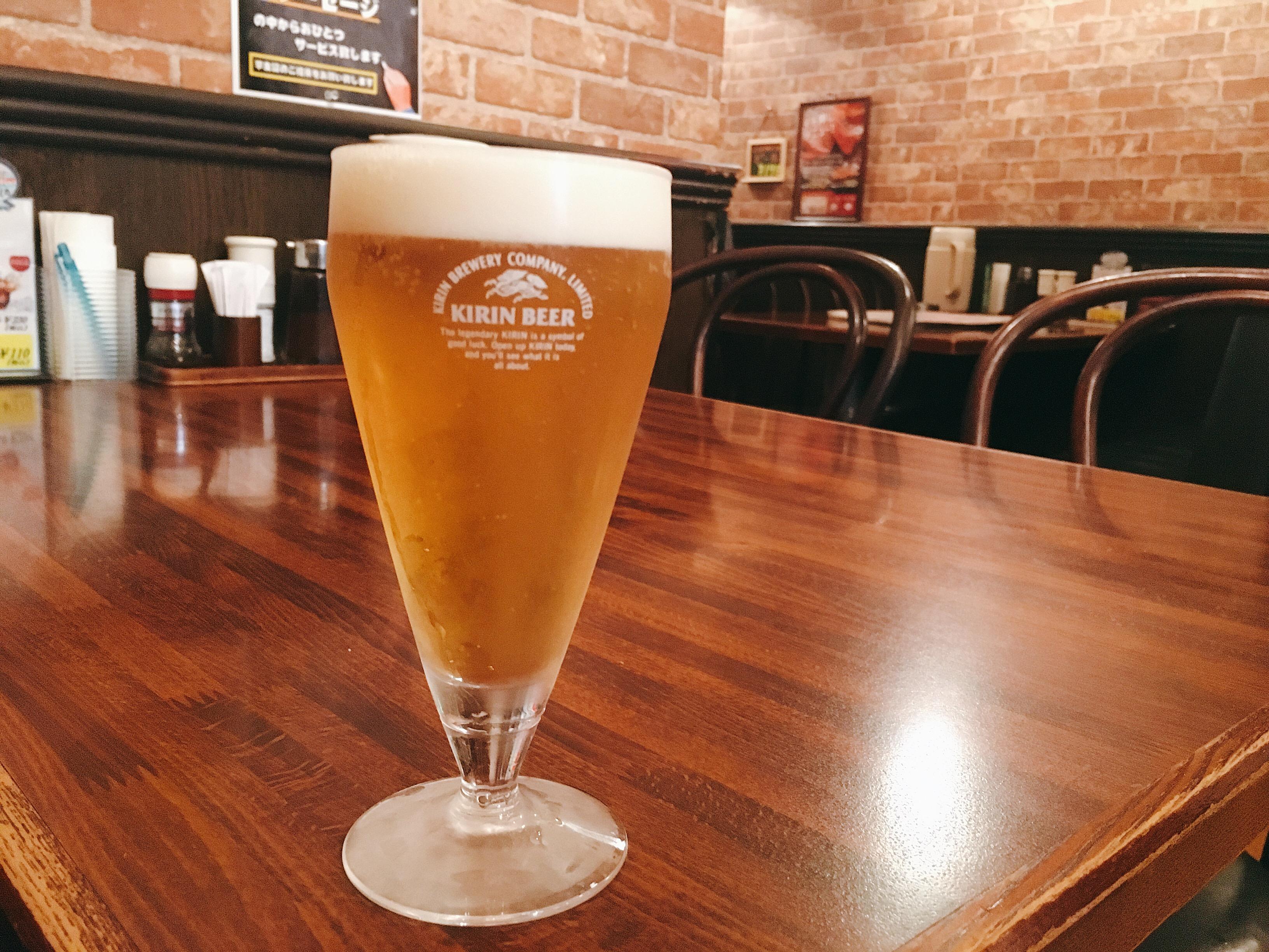 くいしんぼ八王子北口店!!150円ビールとお得なステーキバーグ