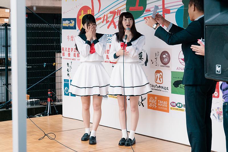 みずき通りフェスティバル2017秋 少女隊