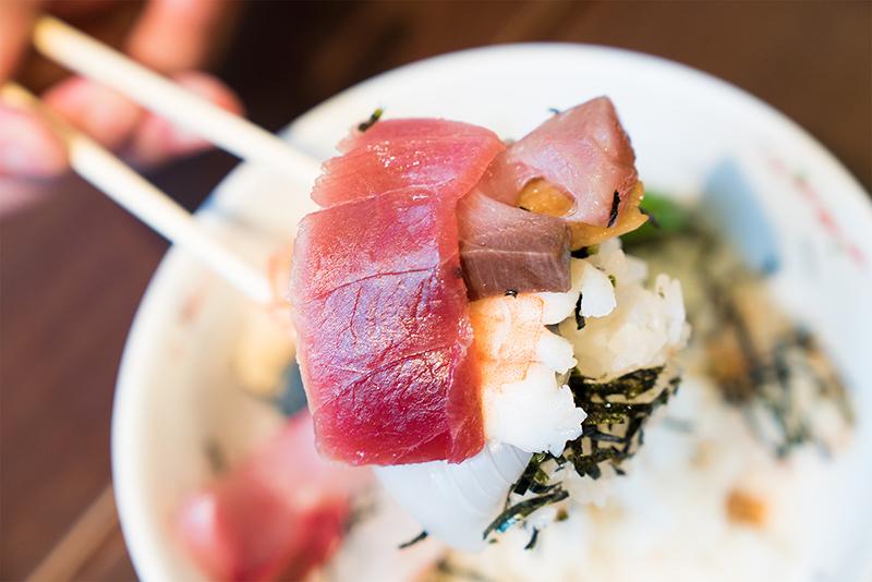 八王子の小樽横丁で蟹が入ったカレーと海鮮丼を食すんだなぁ~