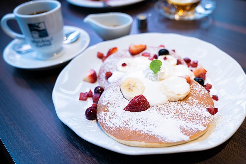 日常使いしやすいカフェ『八王子珈琲店』のランチとパンケーキ!!