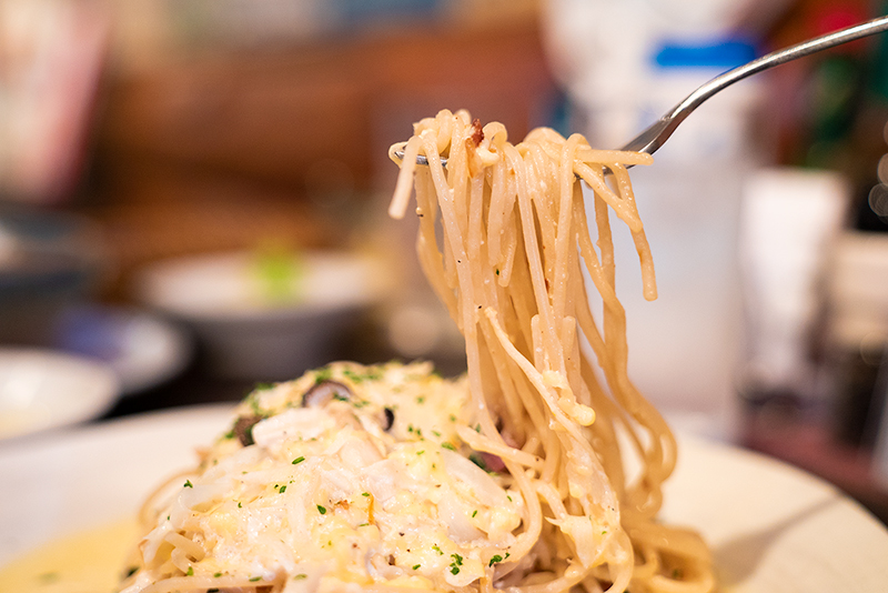 太陽讃歌の珍しいスープスパゲッティが超オシャレ&美味し!!