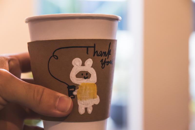 coffee ritmos(コーヒー リトモス) スリーブイラスト