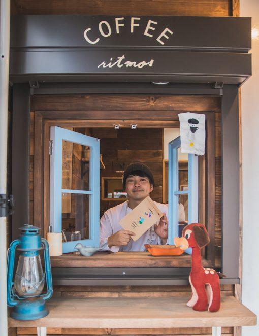 coffee ritmos(コーヒー リトモス) 店頭カウンター