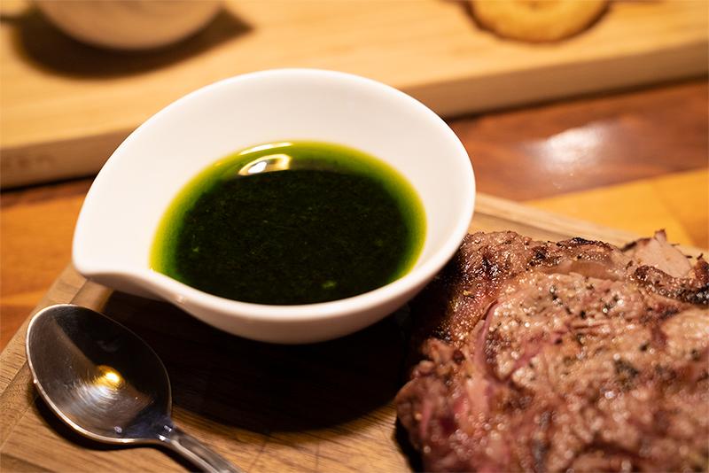 PENTHOUSE Gastro Dining(ペントハウス ガストロダイニング) リブロースステーキ チミチュリソース
