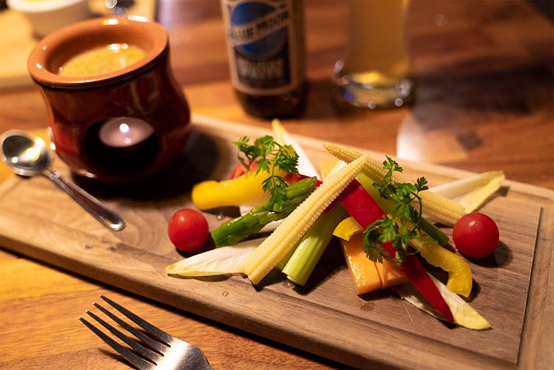 PENTHOUSE Gastro Dining(ペントハウス ガストロダイニング) 彩り野菜のバーニャカウダー