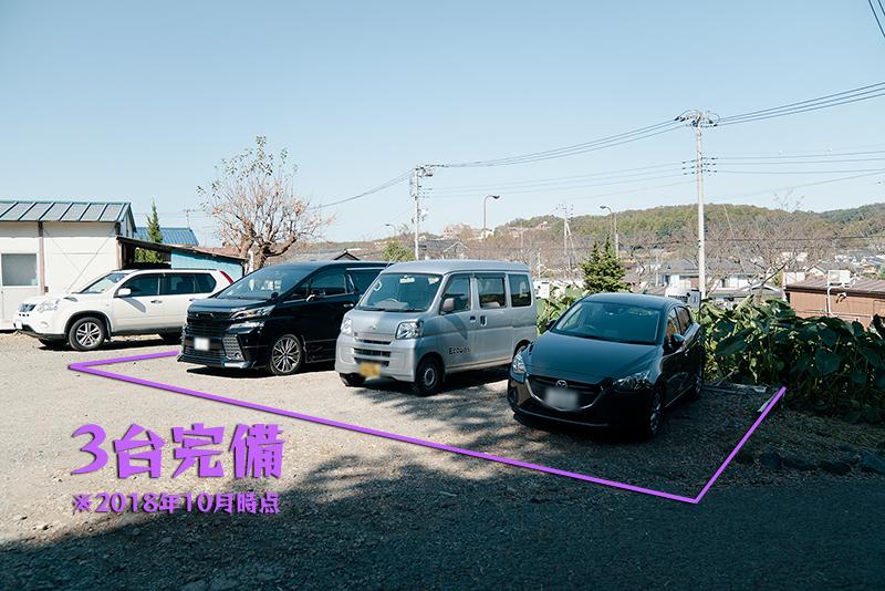 長浜ラーメン 八王子 駐車場