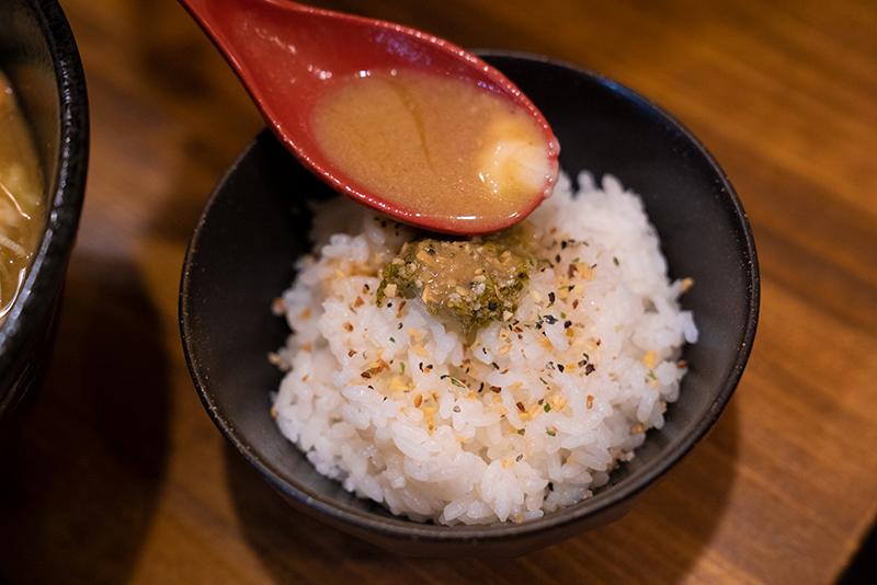 麺屋 神風 八王子 バジルライス