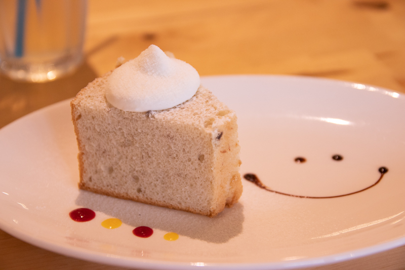 CASSI(カッシー) ランチデザート バナナのシフォンケーキ