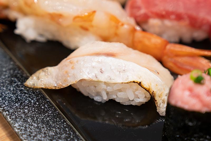 八王子OPA(オーパ) 金沢回転寿司 輝らり 日本海セット のどぐろ