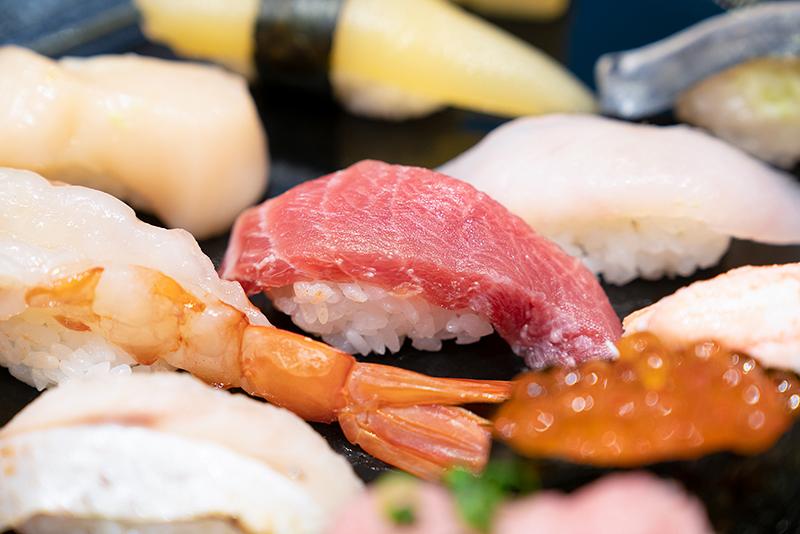 八王子OPA(オーパ) 金沢回転寿司 輝らり 日本海セット 大トロ