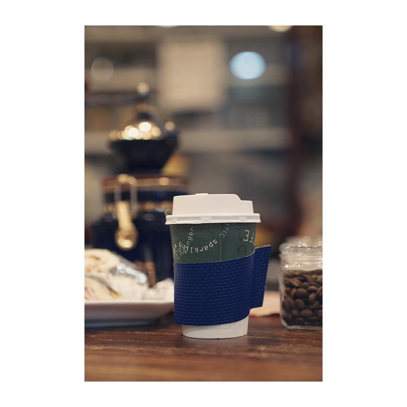 コーヒースタンド じょっぱり コーヒー スリーブ