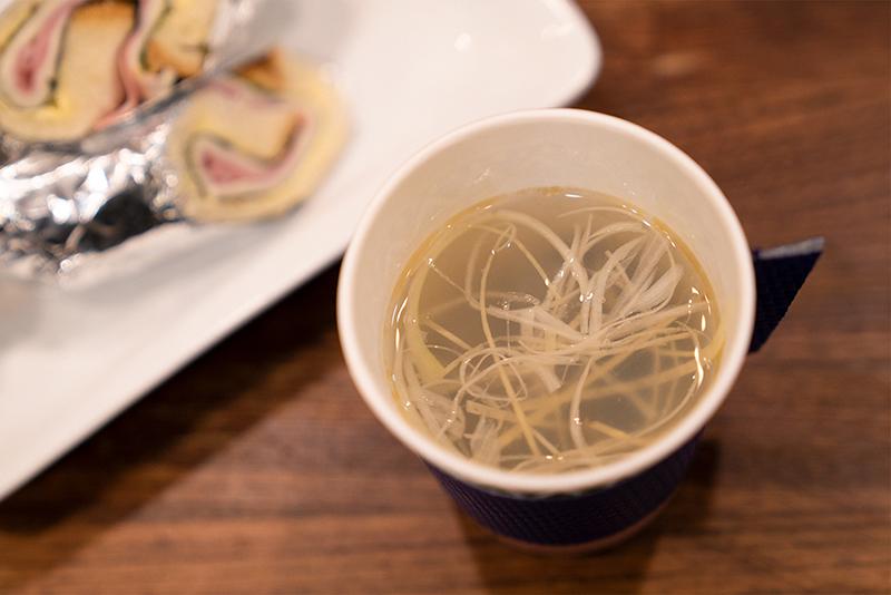 コーヒースタンド じょっぱり しじみスープ