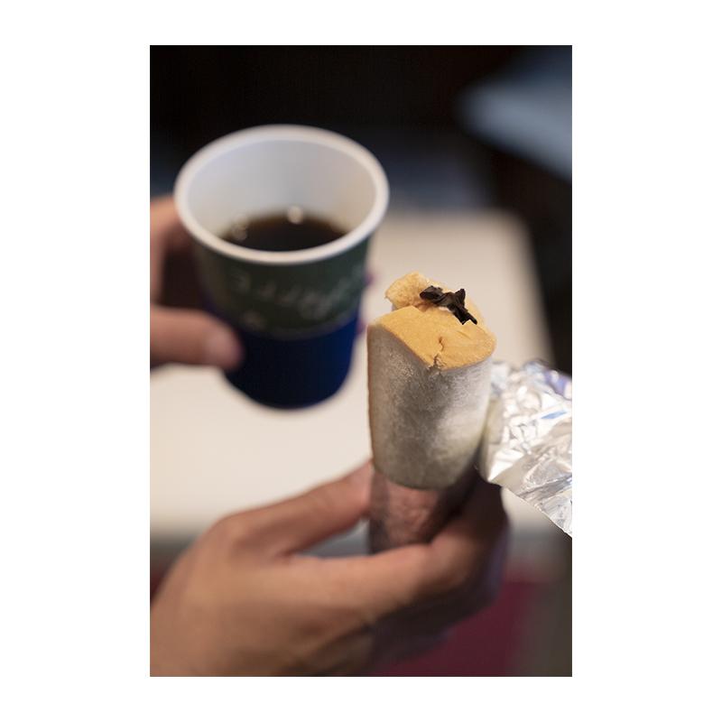 コーヒースタンド じょっぱり ロールパン
