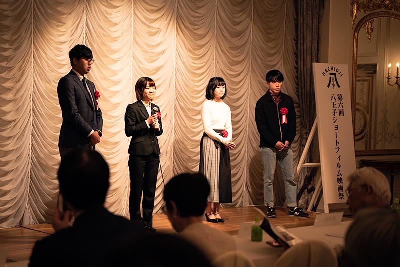 八王子映画祭 会場 Royal Garden Palace 八王子日本閣 学生部門 監督