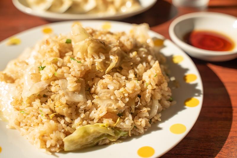 中華飯店 百嘉園 ランチ定食メニュー レタス炒飯