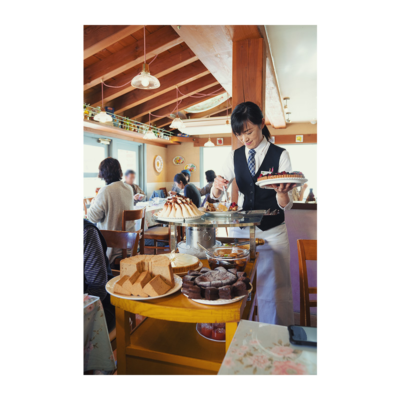 Cannery Row(キャナリィ・ロウ)八王子店 手作りドルチェ3種の盛り合わせ