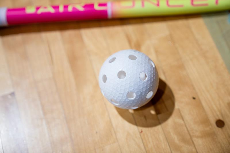 八王子フロアボールクラブ 練習 スティック ボール