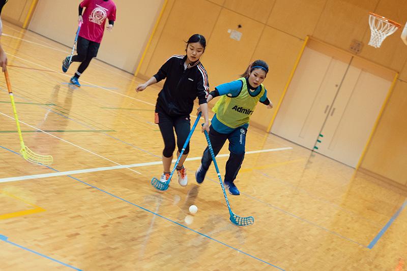 八王子フロアボールクラブ 練習