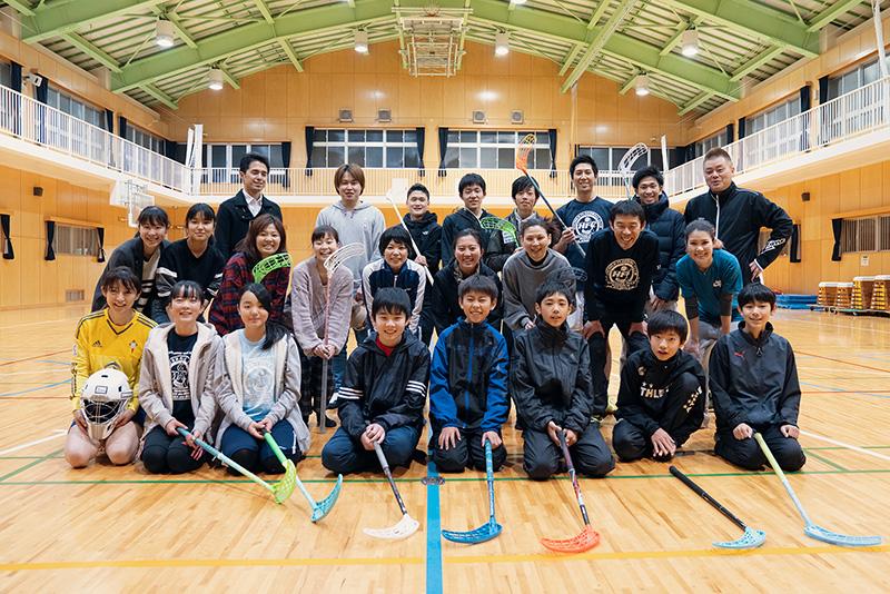 八王子フロアボールクラブ 練習 メンバー