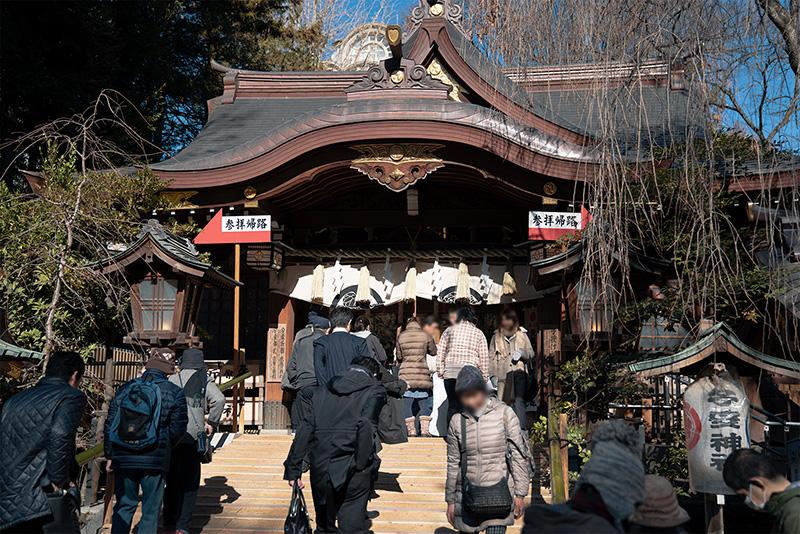 八王子 子安神社 参拝