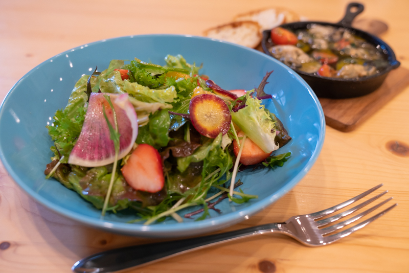 Cafe ENLARGE カフェ エンラージ 八王子野菜のサラダ