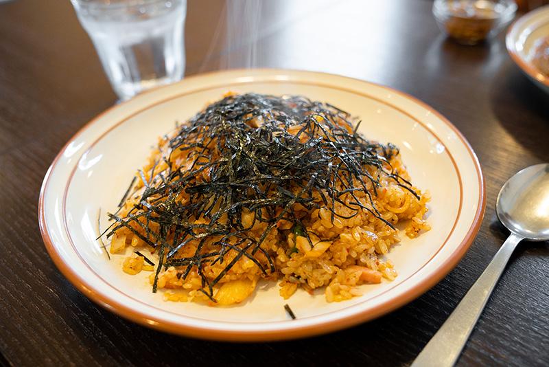 喫茶 馬天使 焼き飯(キムチ味)