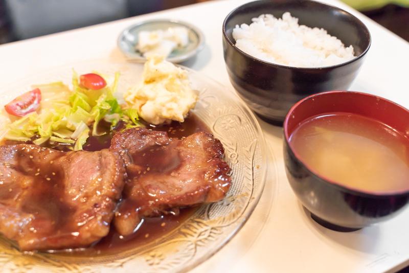 Cafe Tiger1 カフェ タイガーワン ポークソテー定食