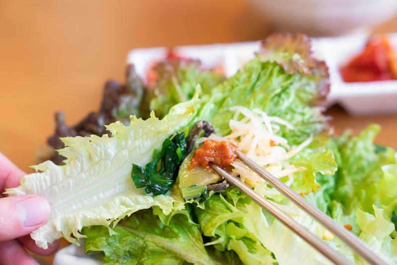 韓国家庭料理 我家 ウリチベ ポリッパ定食