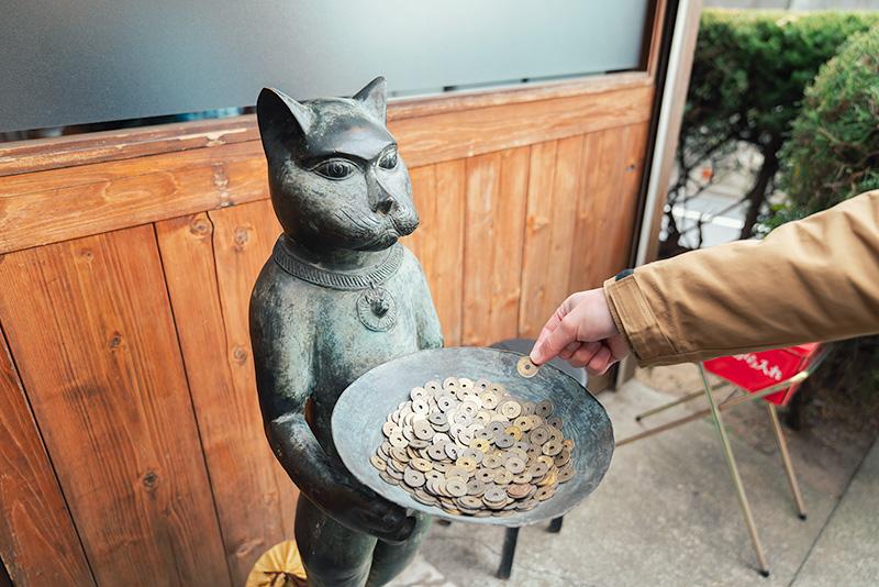 弘富 ひろとみ 猫のオブジェ