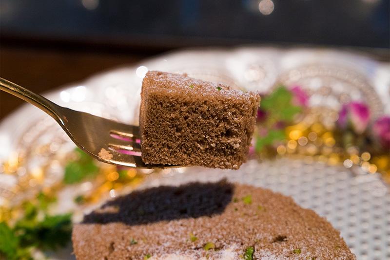 パペルブルグ八王子 デザートメニュー ロールケーキ