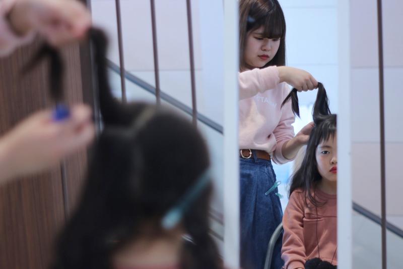 ミスターマックス町田多摩境店内フシギヤ主催『キッズファッションショー』 2018 イベント様子