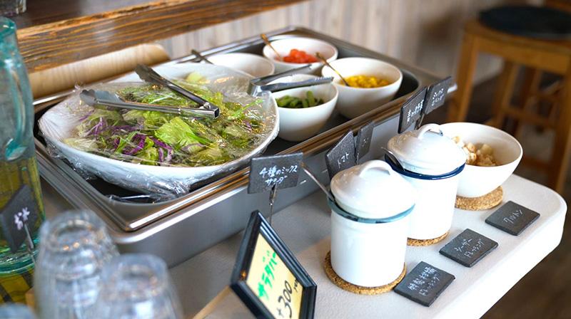 KitchenRocco キッチンロッコ ランチ サラダバー