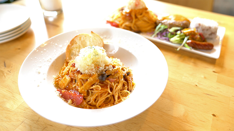 KitchenRocco キッチンロッコ ランチセット ロッコのはちナポ