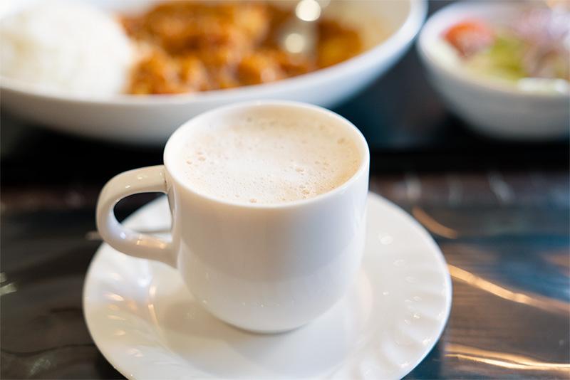 喫茶パティオ 手作りカレー ランチセット