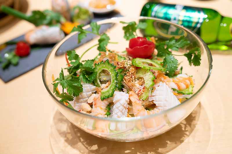 コムサイゴン 海鮮サラダ