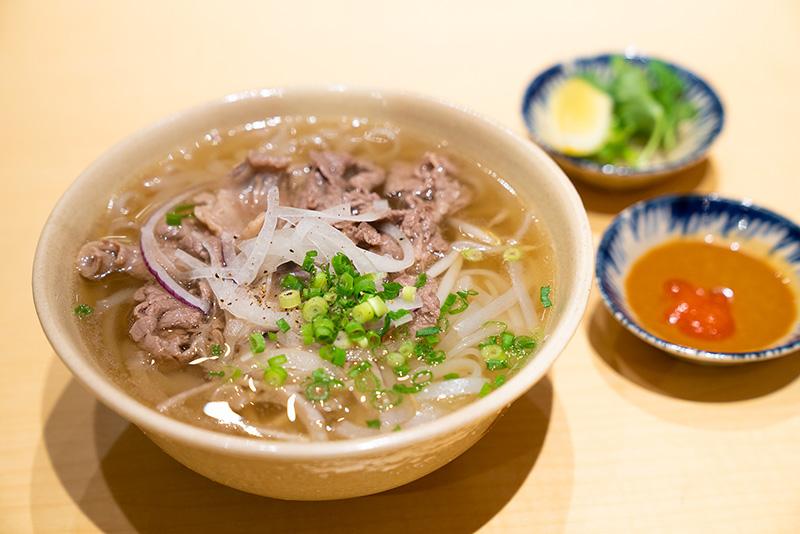コムサイゴン 牛肉フォー