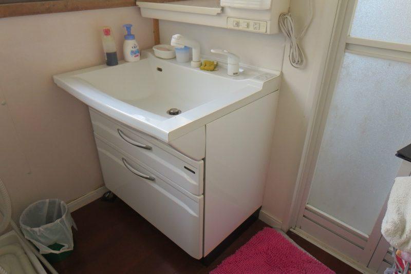ENLARGE エンラージ リフォーム リノベーション 手洗い場 ビフォー